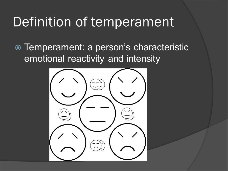 Definition of temperament