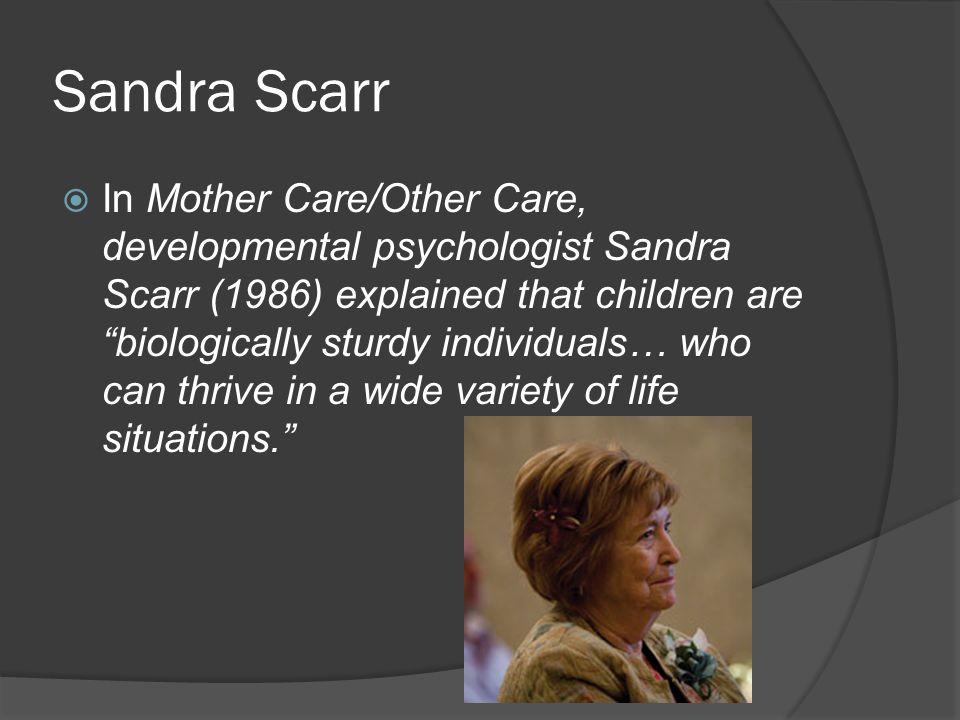 Sandra Scarr