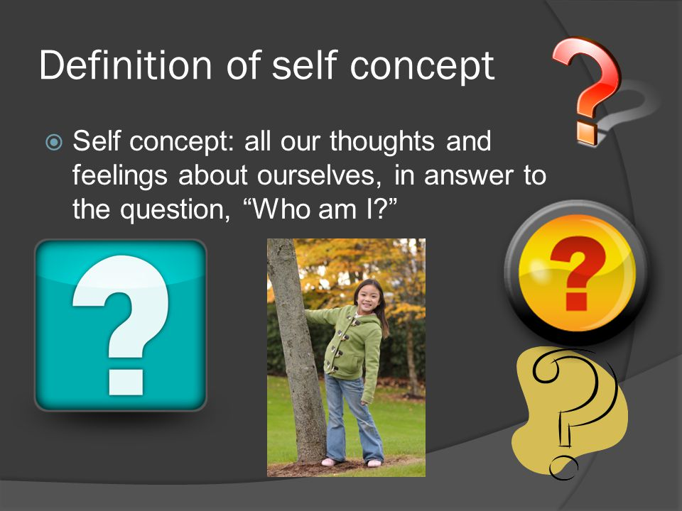 Definition of self concept