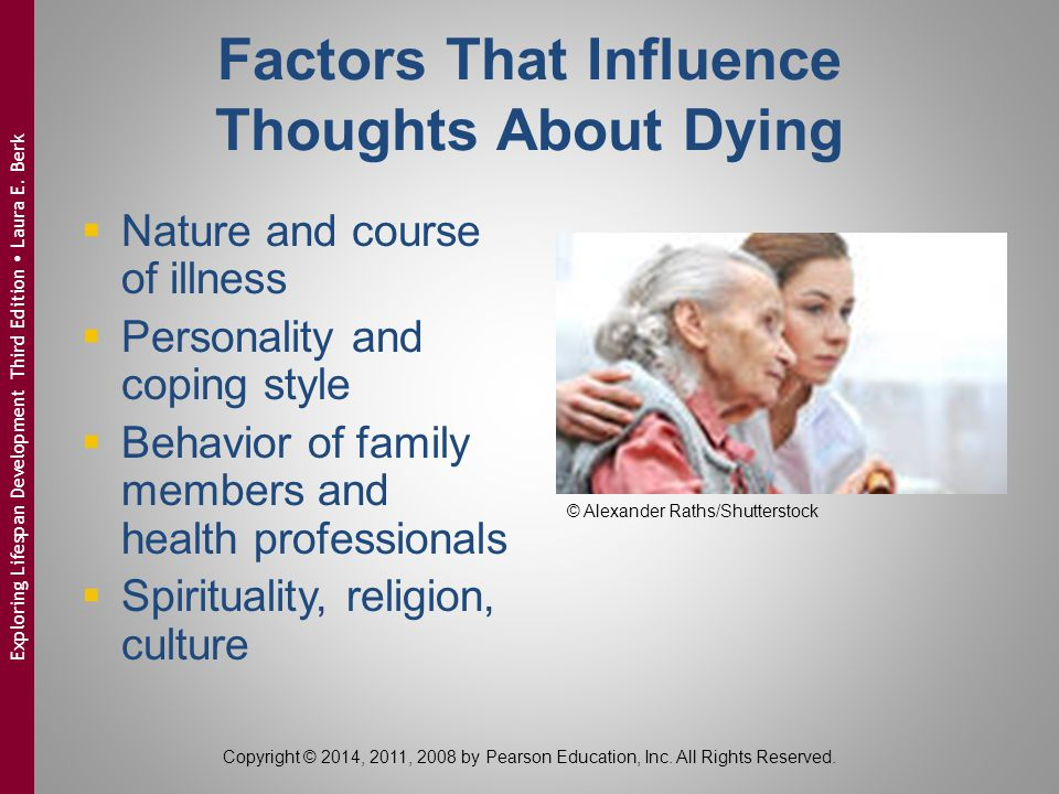 Factors That Influence Thoughts About Dying