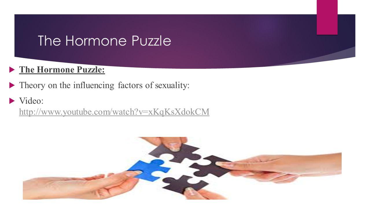 The Hormone Puzzle The Hormone Puzzle:
