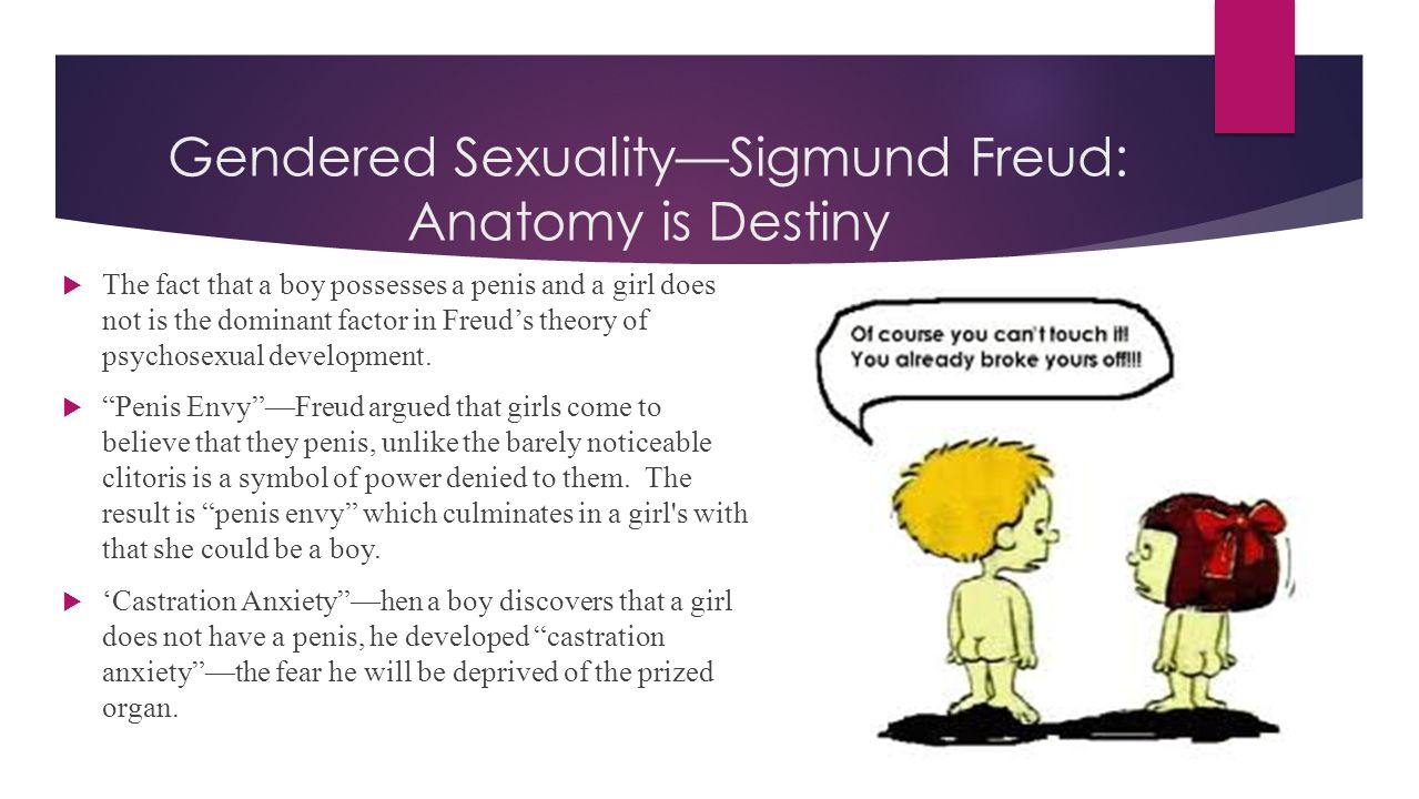 Gendered Sexuality—Sigmund Freud: Anatomy is Destiny