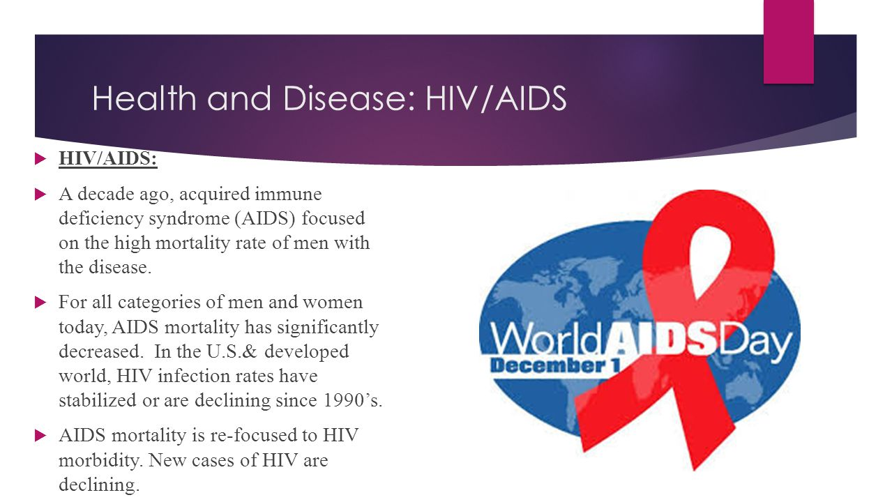 Health and Disease: HIV/AIDS