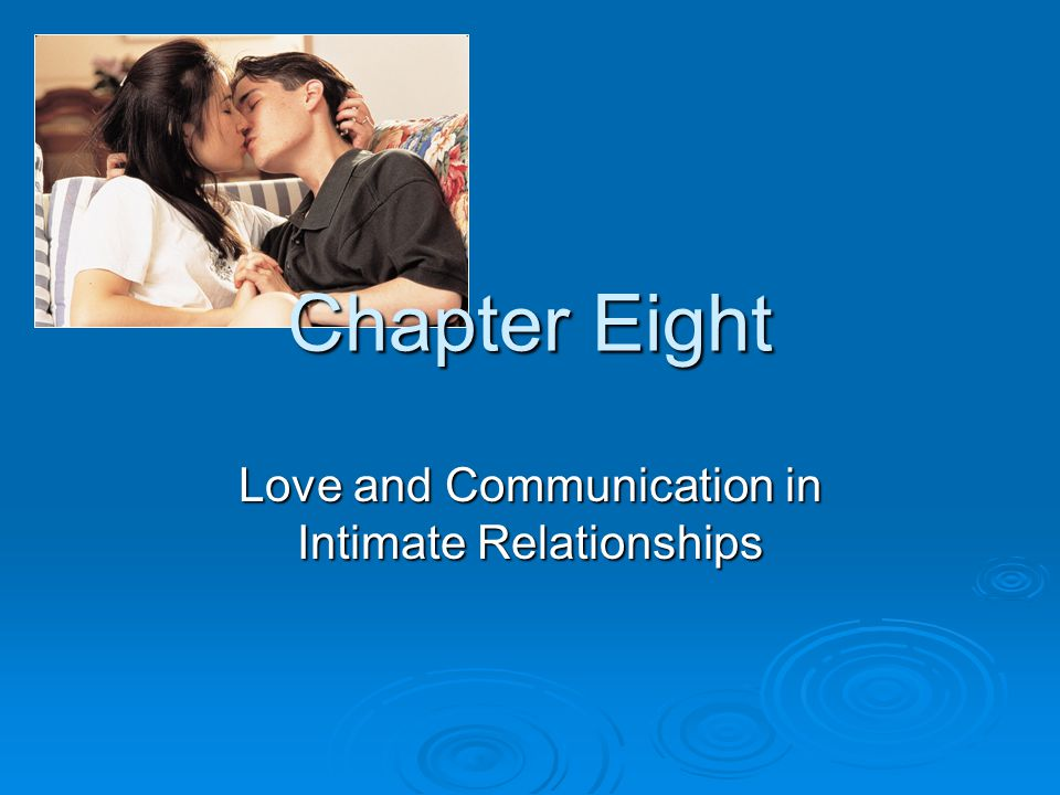 intimate relationships Available in: paperback drawing on psychology, family studies, sociology, communication studies, and neuroscience, intimate relationships is a.