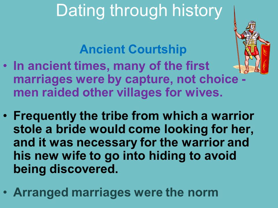 Dating through history