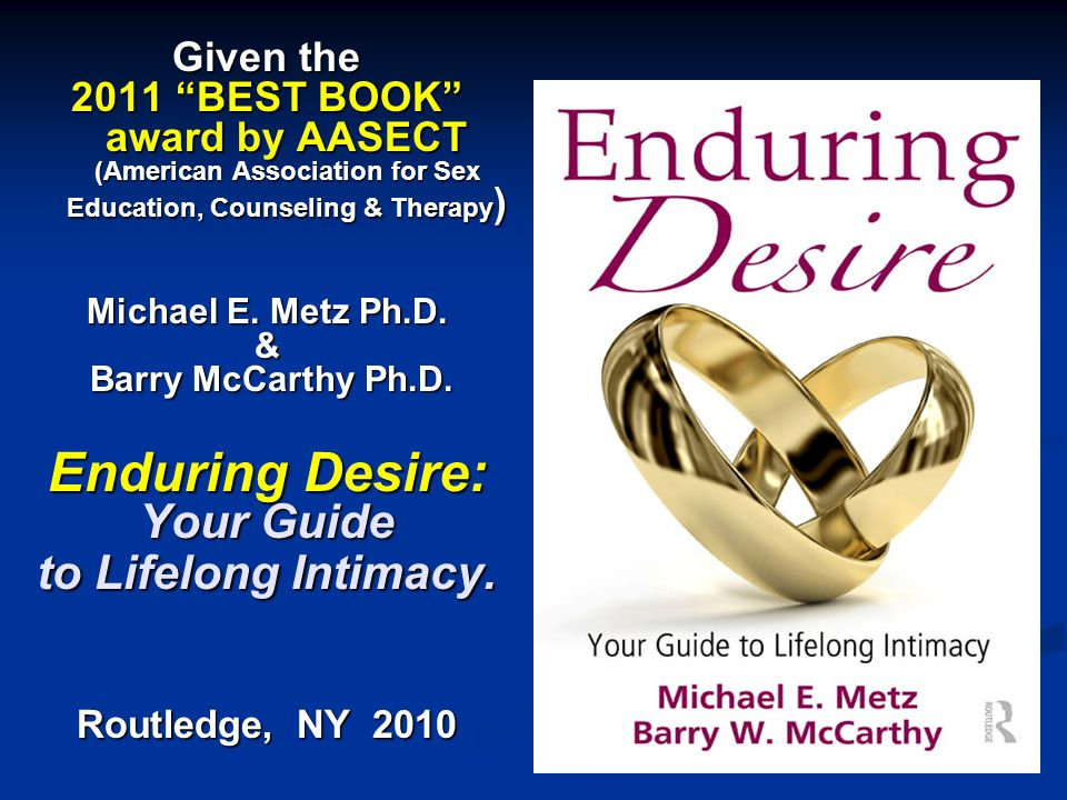 x Enduring Desire: Your Guide to Lifelong Intimacy. Given the
