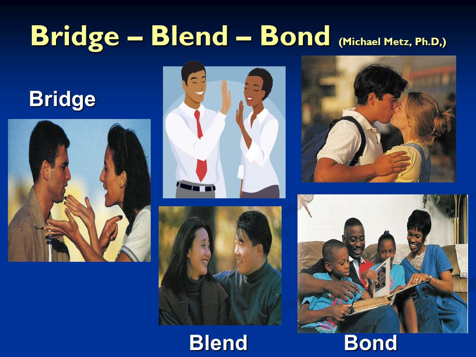 Bridge – Blend – Bond (Michael Metz, Ph.D,)