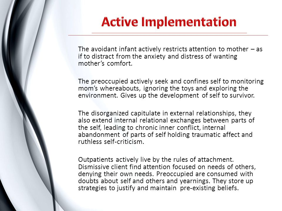 Active Implementation