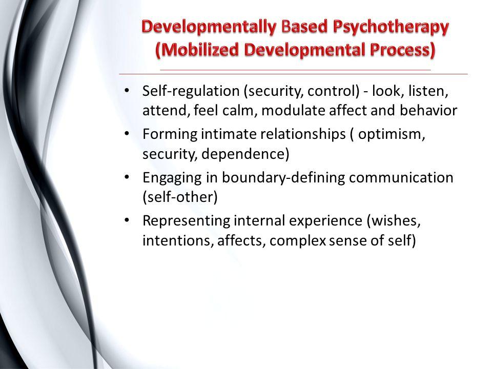 Developmentally Based Psychotherapy (Mobilized Developmental Process)