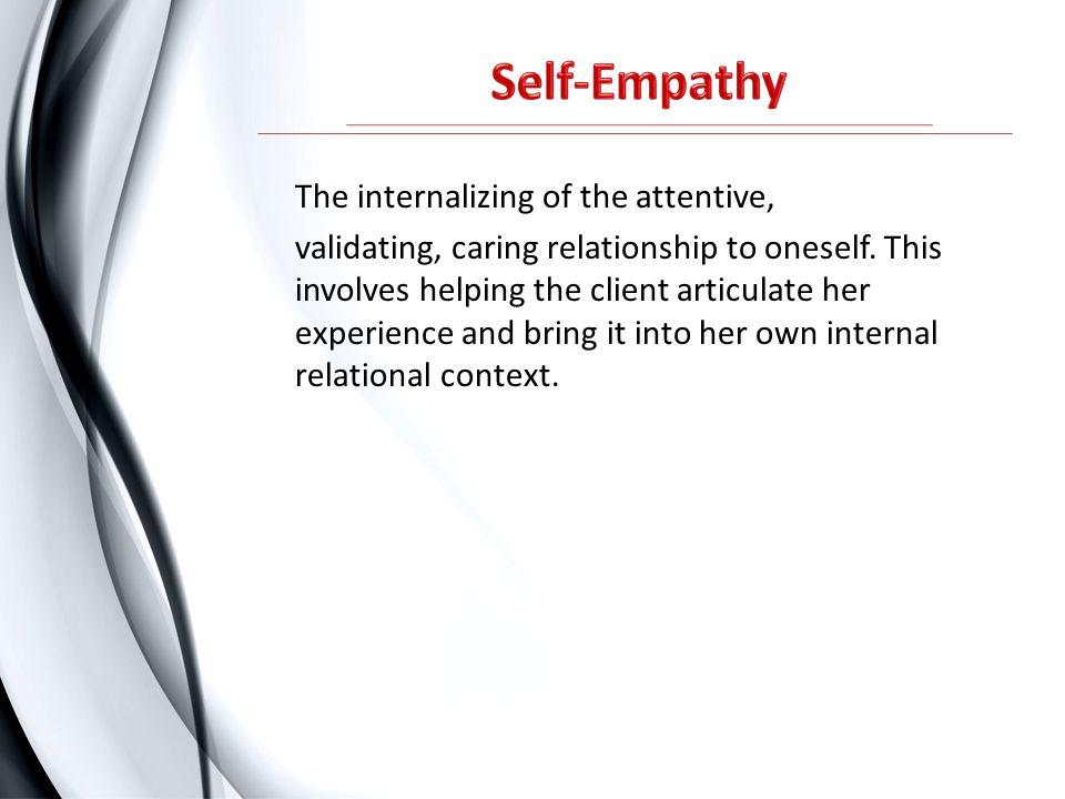 Self-Empathy