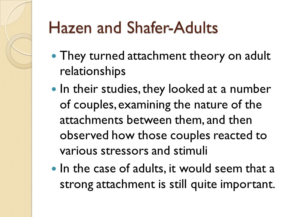 Hazen and Shafer-Adults
