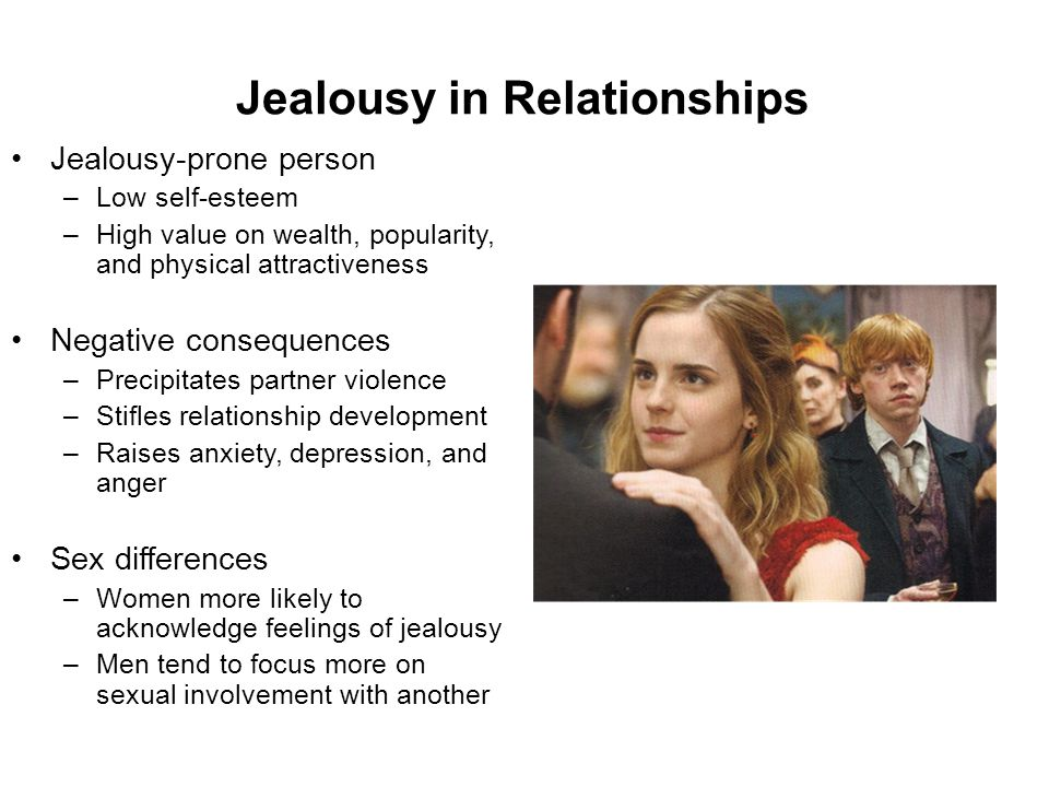 Jealousy in Relationships