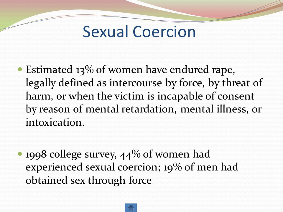 Sexual Coercion