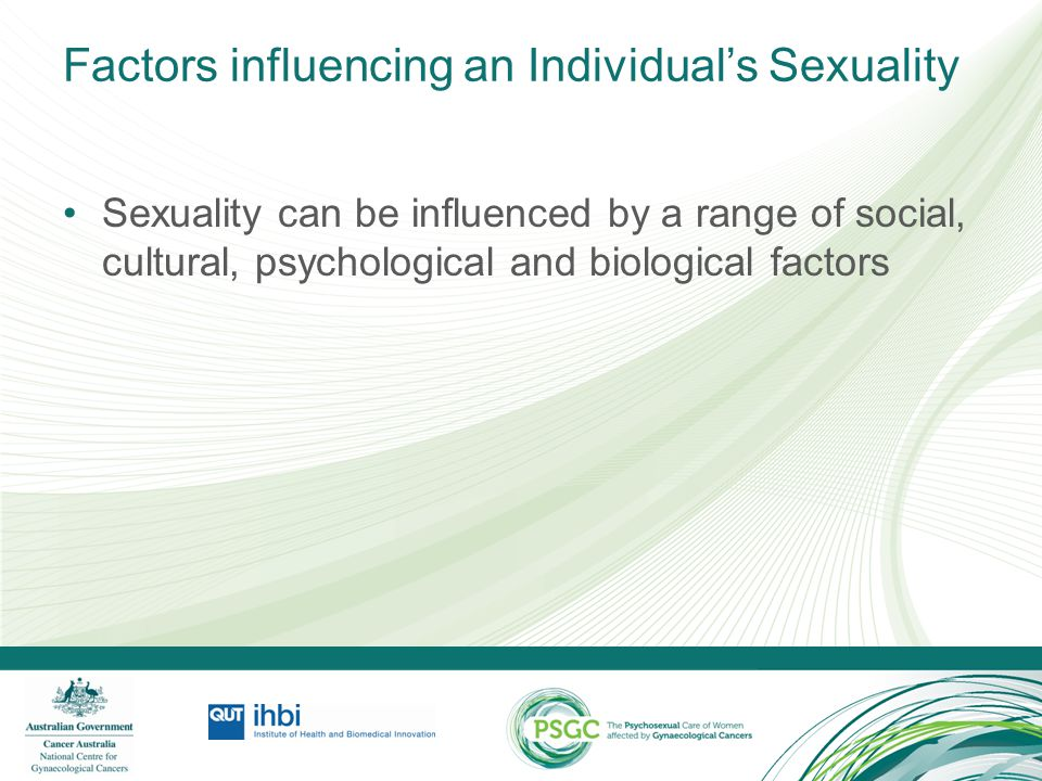 Factors influencing an Individual's Sexuality