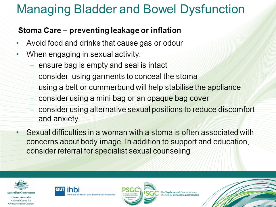Managing Bladder and Bowel Dysfunction
