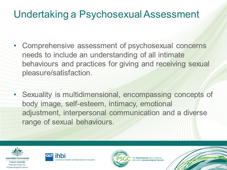 Undertaking a Psychosexual Assessment