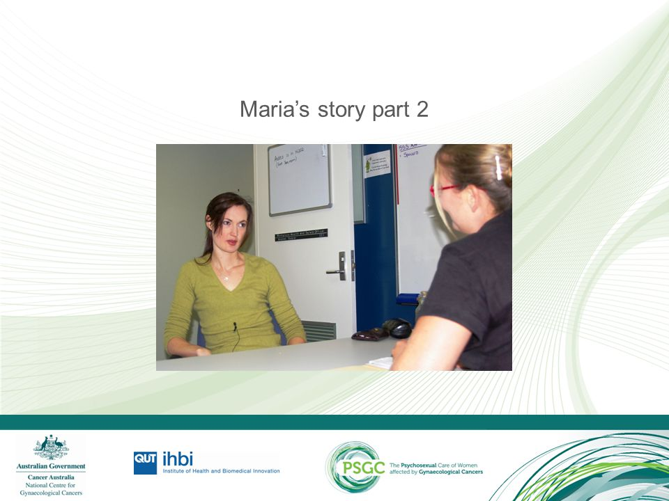 Maria's story part 2 Discussion: