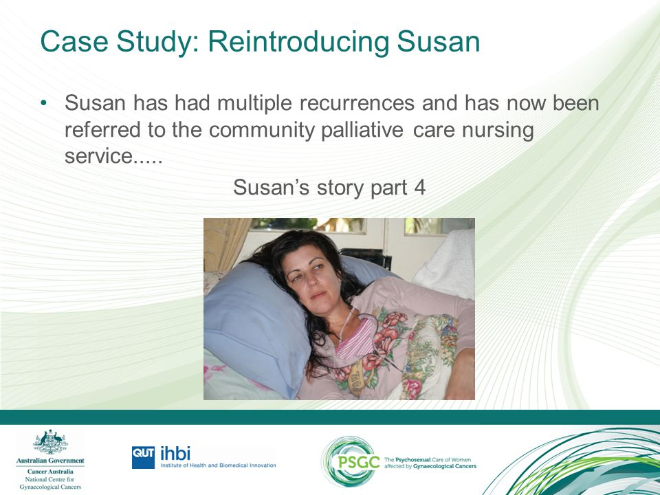 Case Study: Reintroducing Susan