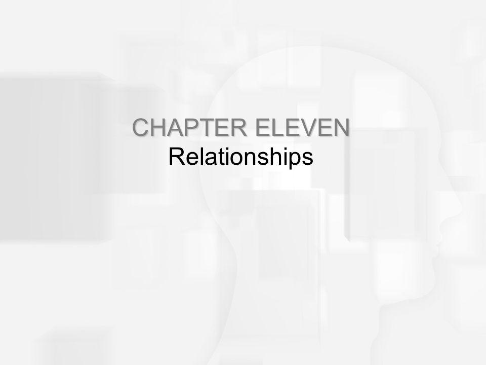 CHAPTER ELEVEN Relationships