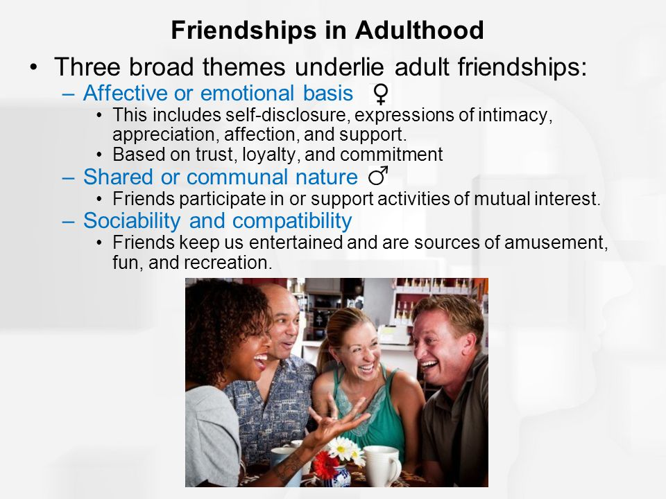 Friendships in Adulthood