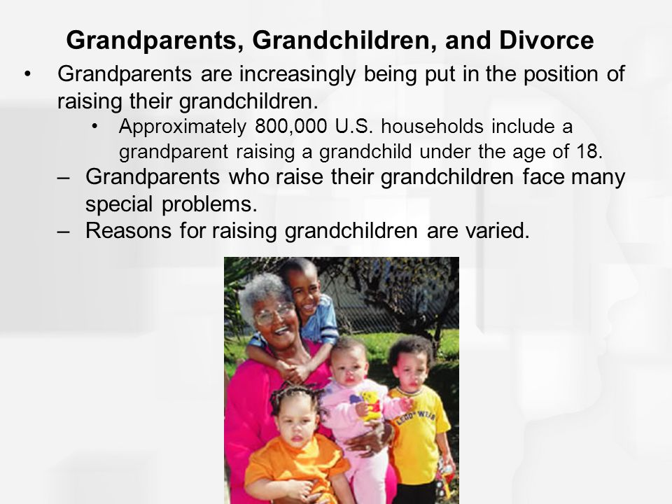 Grandparents, Grandchildren, and Divorce