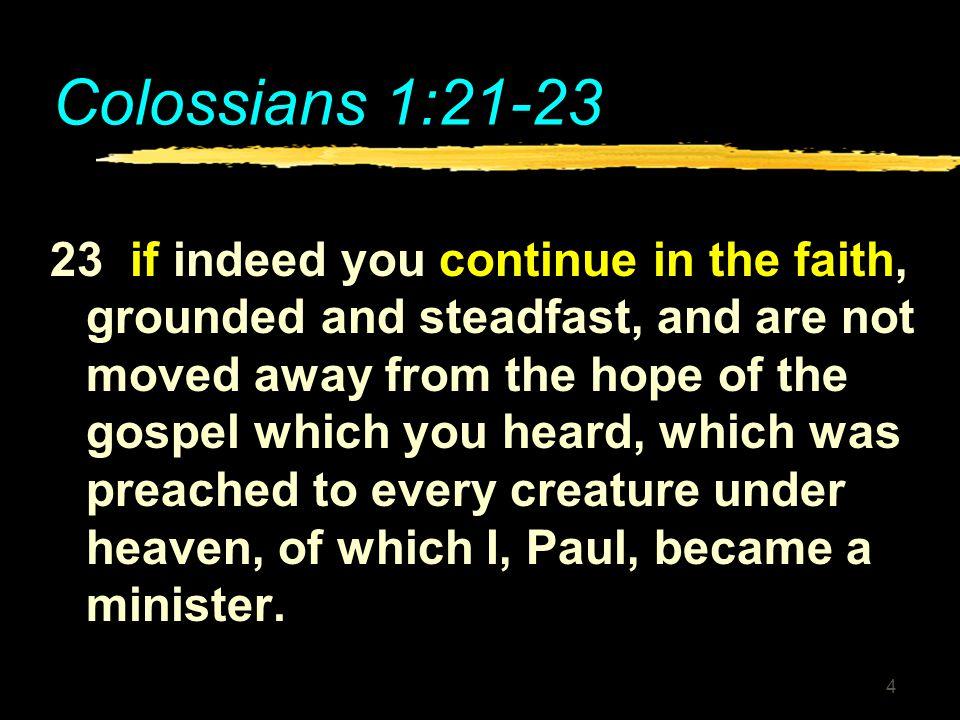 Colossians 1:21-23