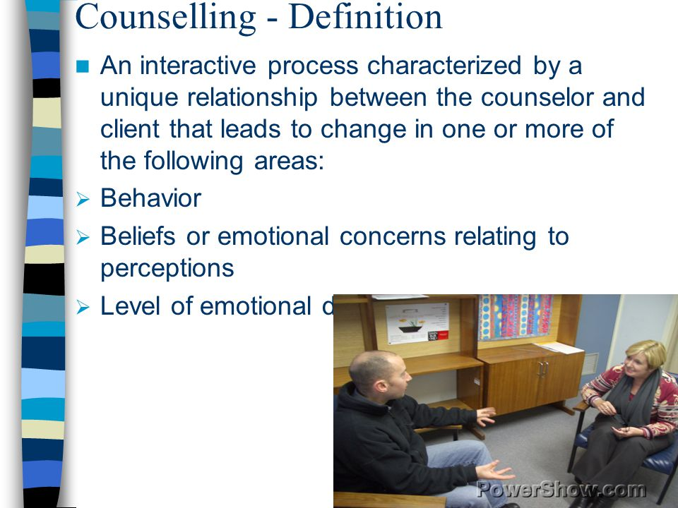 Counselling - Definition