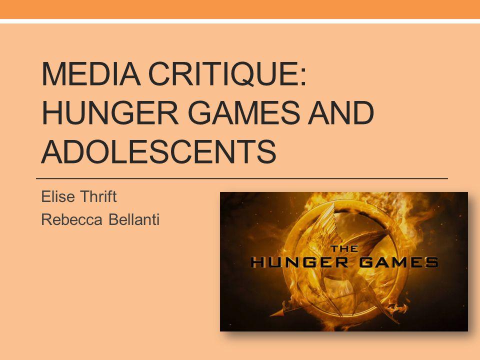 Media Critique: Hunger Games and Adolescents