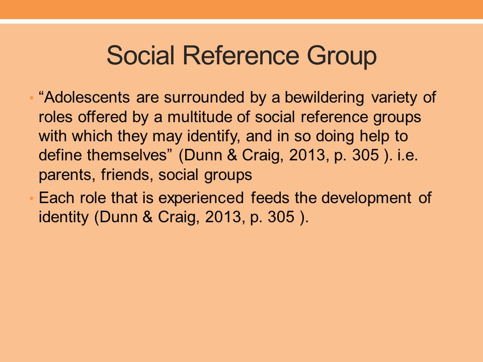 Social Reference Group