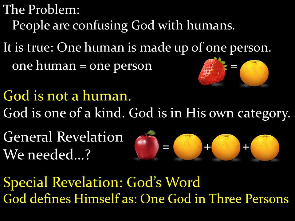 Special Revelation: God's Word