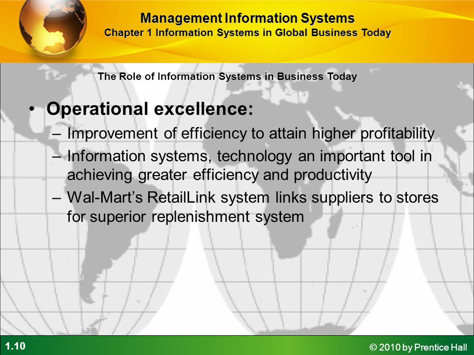 Operational excellence: