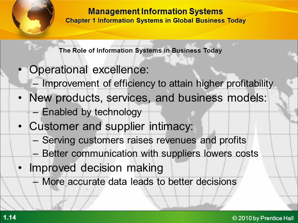 Operational excellence: New products, services, and business models: