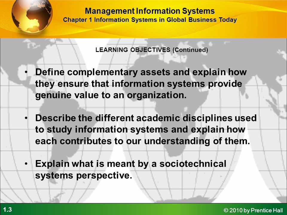 Explain what is meant by a sociotechnical systems perspective.