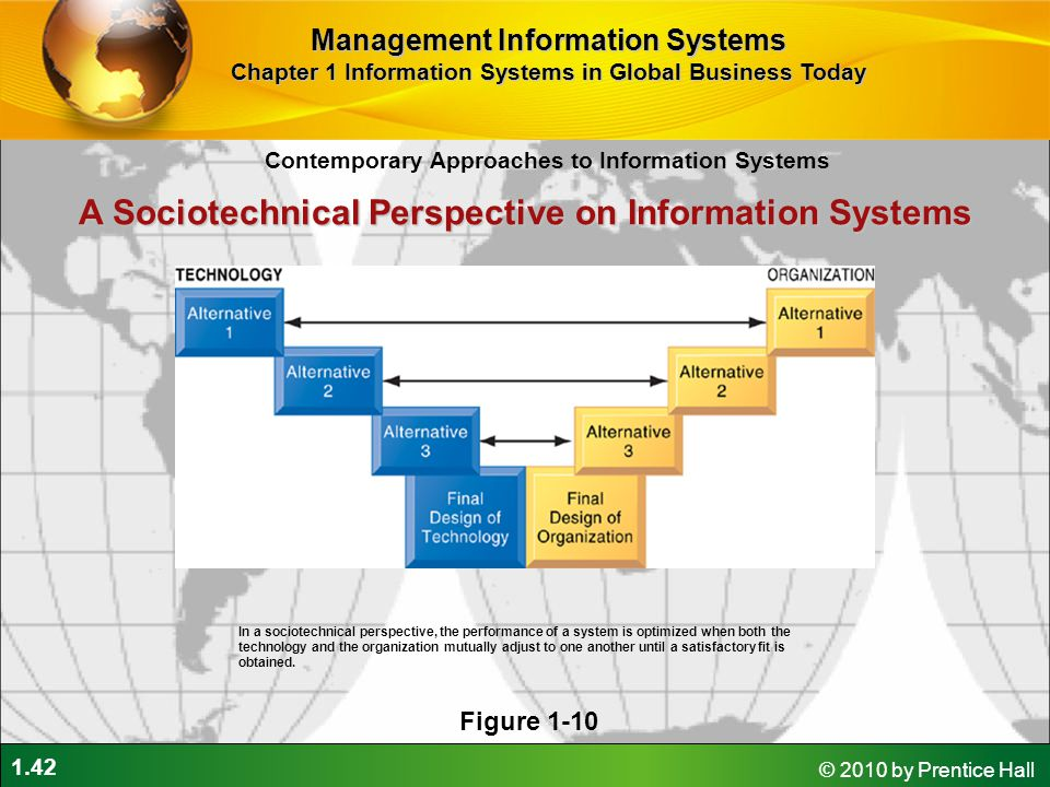 A Sociotechnical Perspective on Information Systems