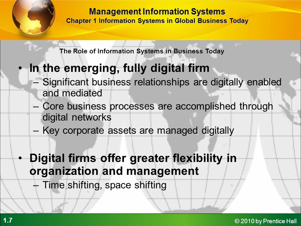 In the emerging, fully digital firm