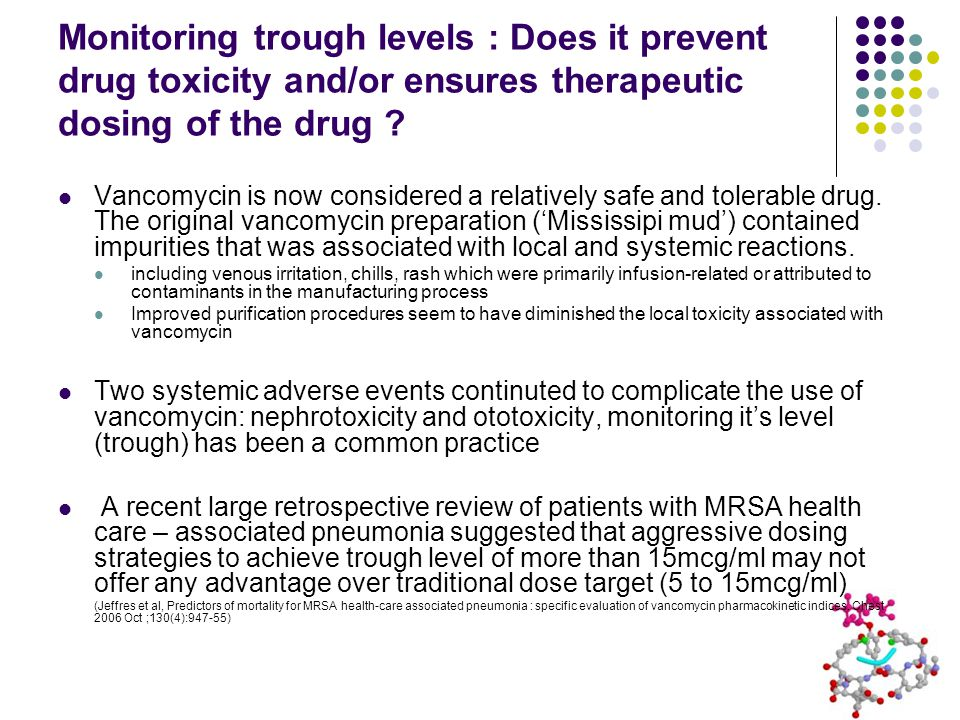 Monitoring trough levels : Does it prevent drug toxicity and/or ensures therapeutic dosing of the drug