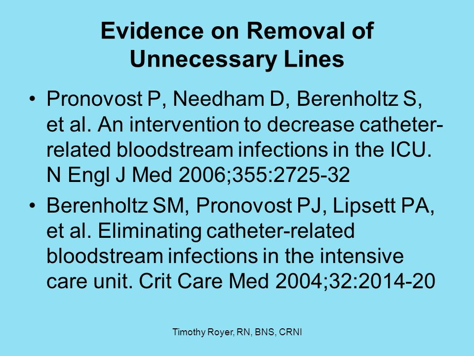 Evidence on Removal of Unnecessary Lines