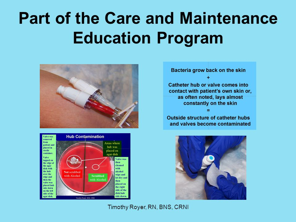 Part of the Care and Maintenance Education Program