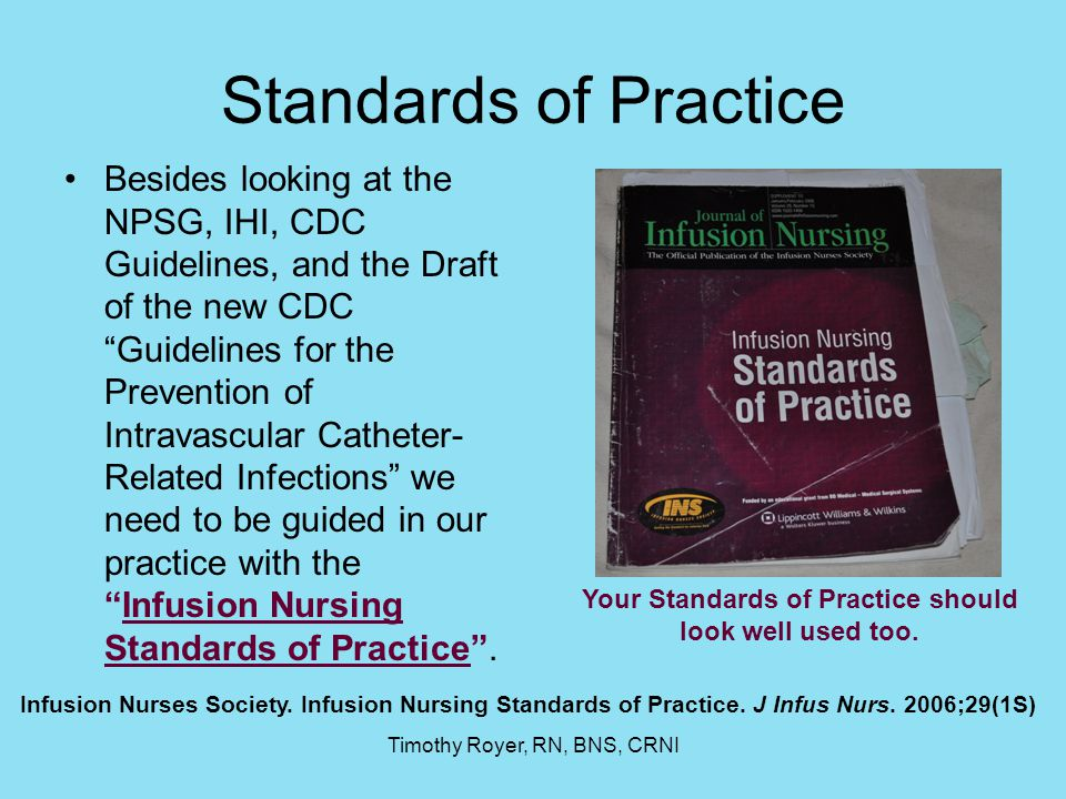 Your Standards of Practice should look well used too.