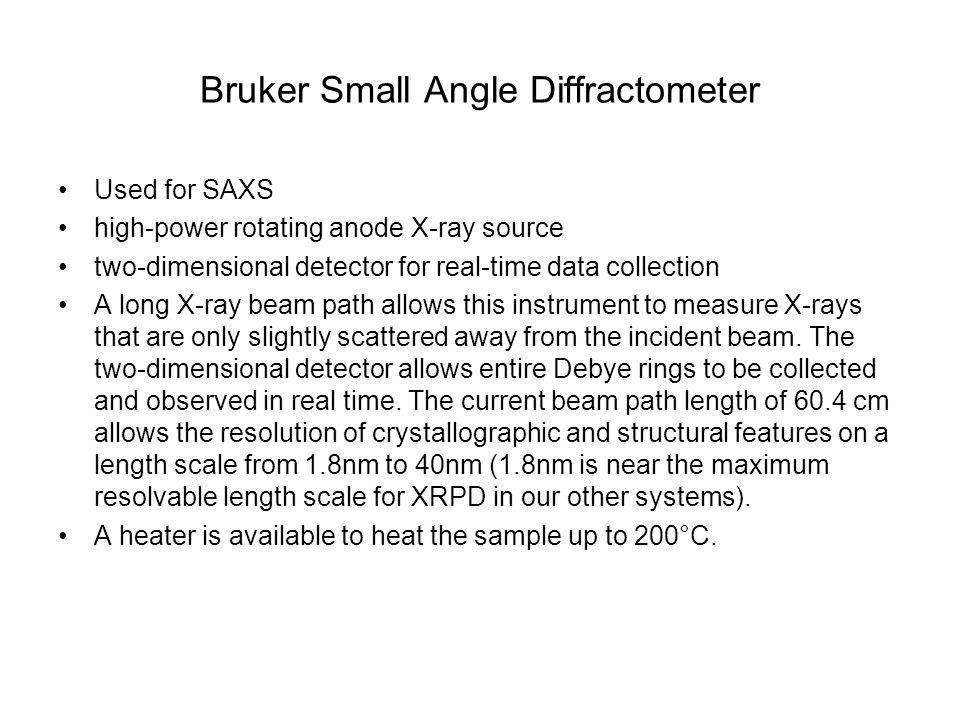 Bruker Small Angle Diffractometer