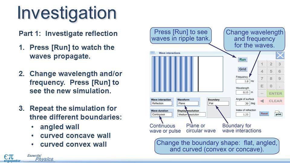 Investigation Part 1: Investigate reflection
