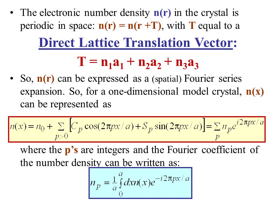 Direct Lattice Translation Vector: