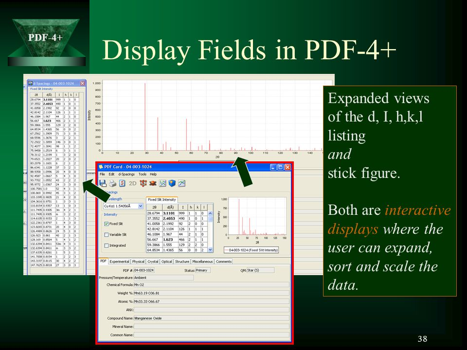 Display Fields in PDF-4+