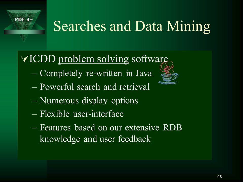 Searches and Data Mining