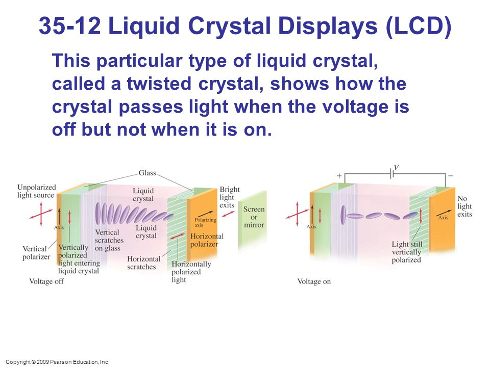 35-12 Liquid Crystal Displays (LCD)