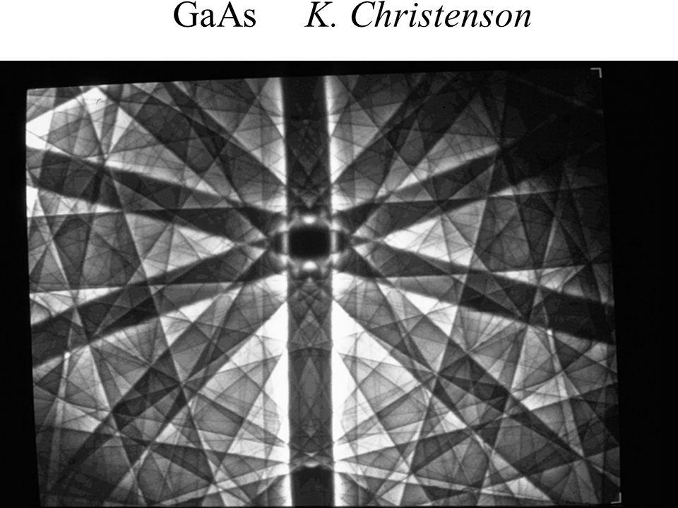GaAs K. Christenson