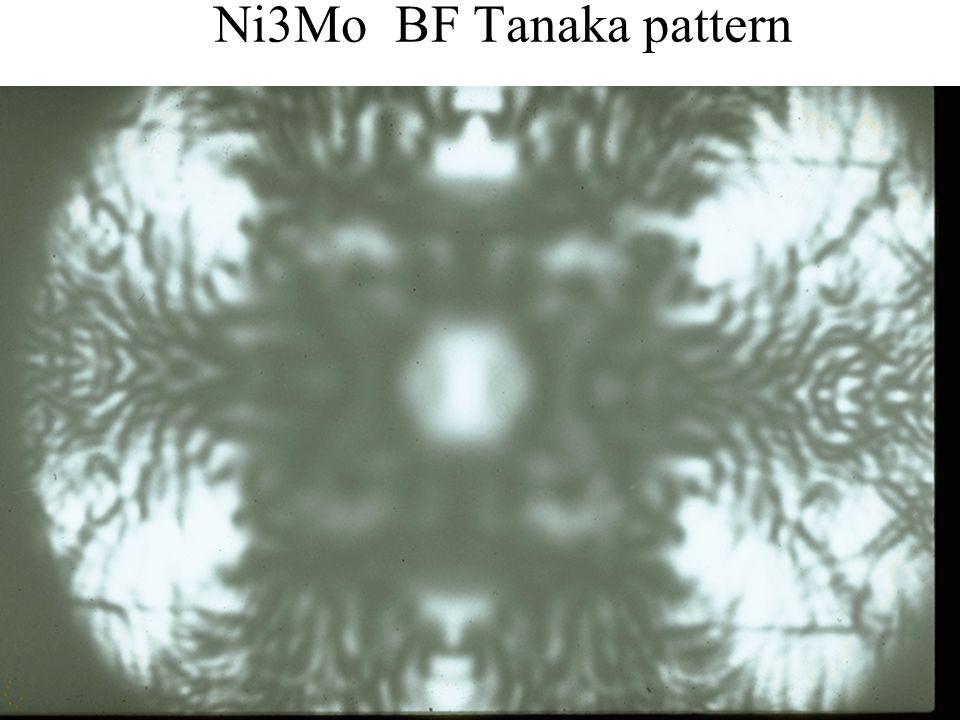 Ni3Mo BF Tanaka pattern