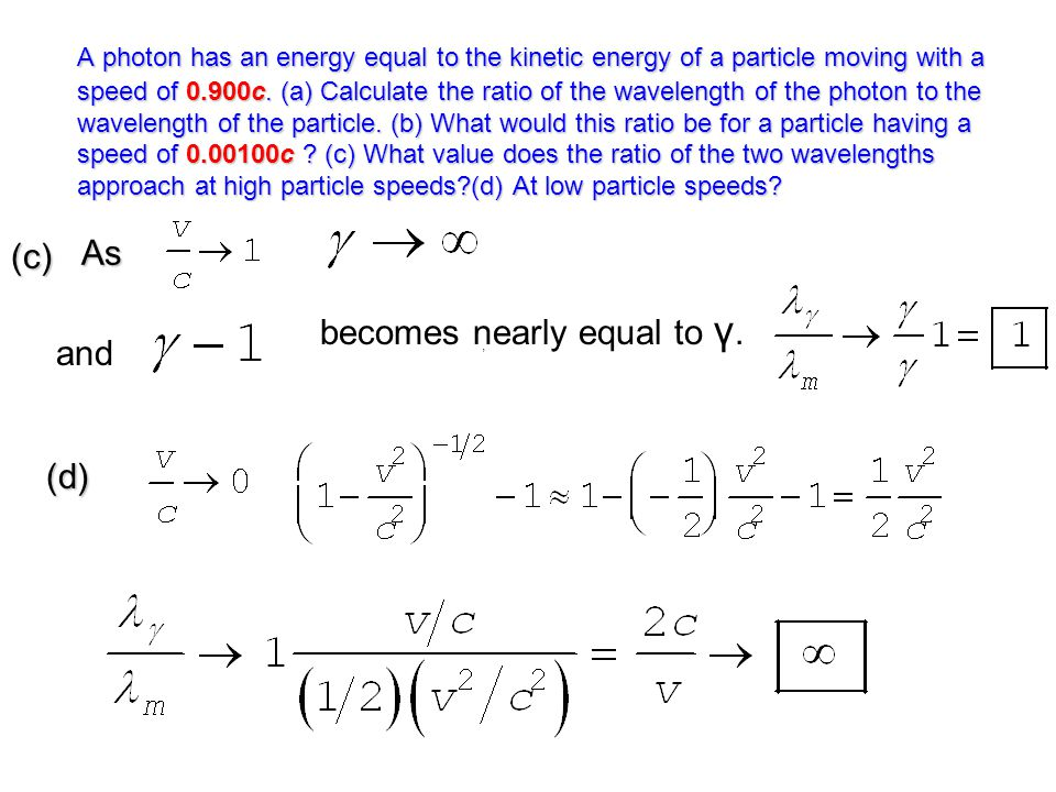 becomes nearly equal to γ. and