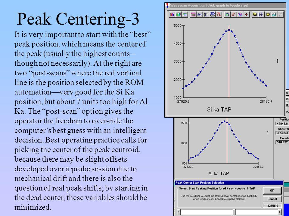 Peak Centering-3