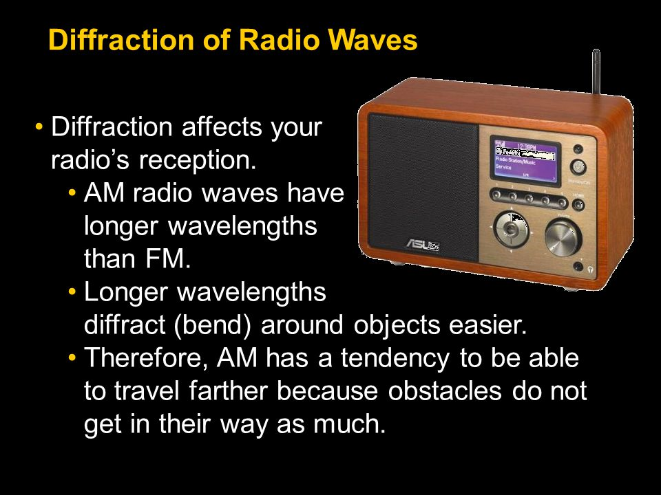 Diffraction of Radio Waves